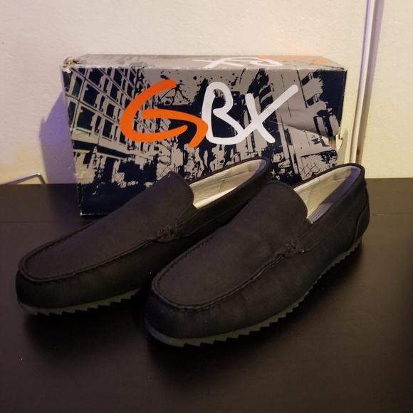 GBX Shoes | Mens Gbx Shark Black Slip